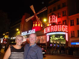 Photo of Paris Moulin Rouge Paris Dinner and Show outside moulin rouge