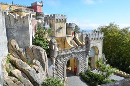 Photo of   Pena Palace, town of Estoril in Sintra