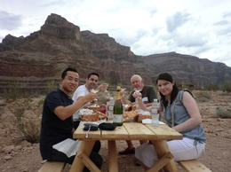 Photo of Las Vegas Grand Canyon All American Helicopter Tour Picnic in the Canyon