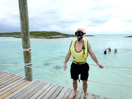 Photo of Nassau Exuma Powerboat Adventure Snorkeling at Ship Channel Cay
