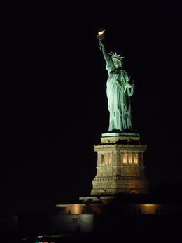 Photo of New York City New York Dinner Cruise with Buffet Statue of Liberty taken from cruise