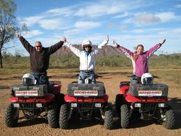 Photo of Alice Springs Alice Springs Quad Bike Tour Successful Journey