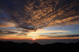 Photo of Maui Small-Group Tour: Luxury Haleakala Sunrise Experience Sunrise at Mt. Haleakala