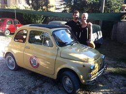 Photo of Florence Self-Drive Vintage Fiat 500 Tour from Florence: Tuscan Wine Experience The beginning of an amazing day.