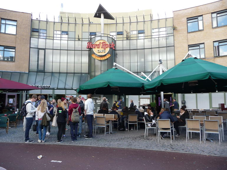 The Hard Rock Cafe in Amsterdam - Amsterdam