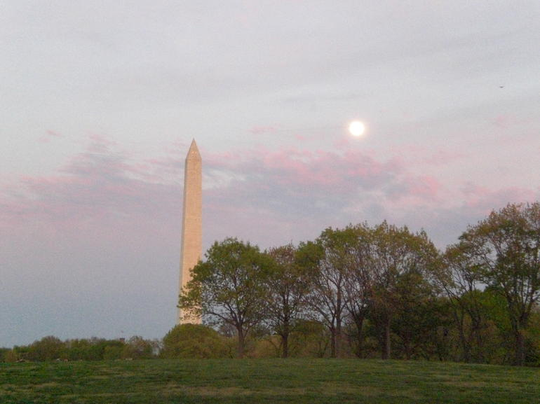 Washington Monument Evening - Washington DC