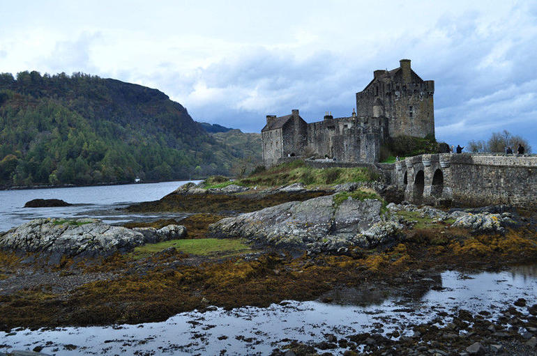 castle in skye1 - Edinburgh