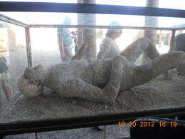 Notice the skull of the body of slave wearing a belt.. , Leonila C - October 2012