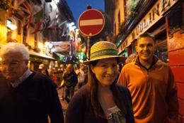 Irish Music Pub Crawl, Pauline R. - March 2014
