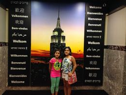 We choose the night viewing option. It was beautiful! Did the view from Top of the Rock for the day option. Very majestic! The building is full of marble and just beautiful. , Andrea S - August 2014