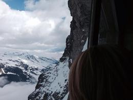 Photo of Zurich Jungfraujoch: Top of Europe Day Trip from Zurich Entering Eiger Tunnel.