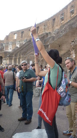 Photo of Rome Skip the Line: Ancient Rome and Colosseum Half-Day Walking Tour In the Colosseum