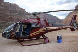 After a smooth landing in the Grand Canyon - April 2010