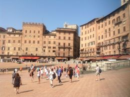 The arena where The Sienna Palio is run twice a year. , Petra A - July 2015