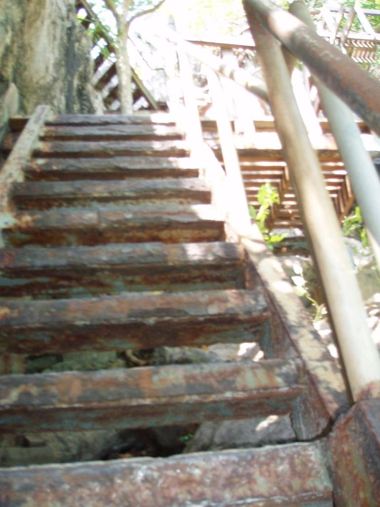 Stairs to Talay Nai - Koh Samui