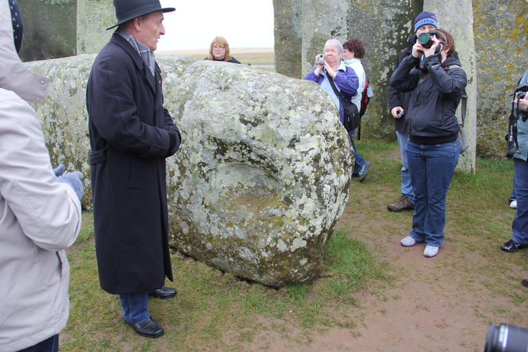 Steve at Stonehenge - London