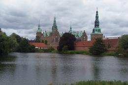 The wonderful castle at Frederiksborg as seen upon approach from the main road. , Jay - July 2013