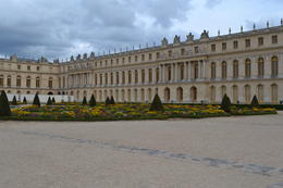 Palace from the back side facing the gardens. , Del R - September 2014