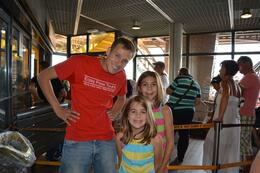 Photo of Paris Skip the Line: Eiffel Tower Tickets and Small-Group Tour Tour Guide Ben and our daughters