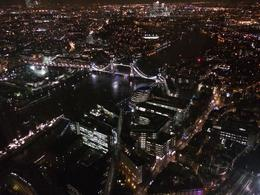 Looking down over Tower Bridge, Bandit - January 2014
