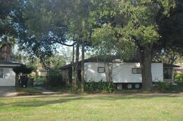Photo of New Orleans Post Hurricane Katrina Tour Trailers