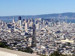 We took the Go Car up Twin Peaks and were rewarded with this view of the city. AMAZING! , Maryanne - June 2012
