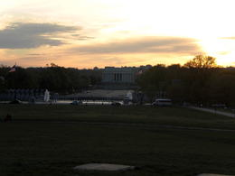 Photo of Washington DC Washington DC Sites at Night Bike Tour World War II and Lincoln Monuments Evening