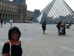 Me at the Louvre, Joan K - July 2010