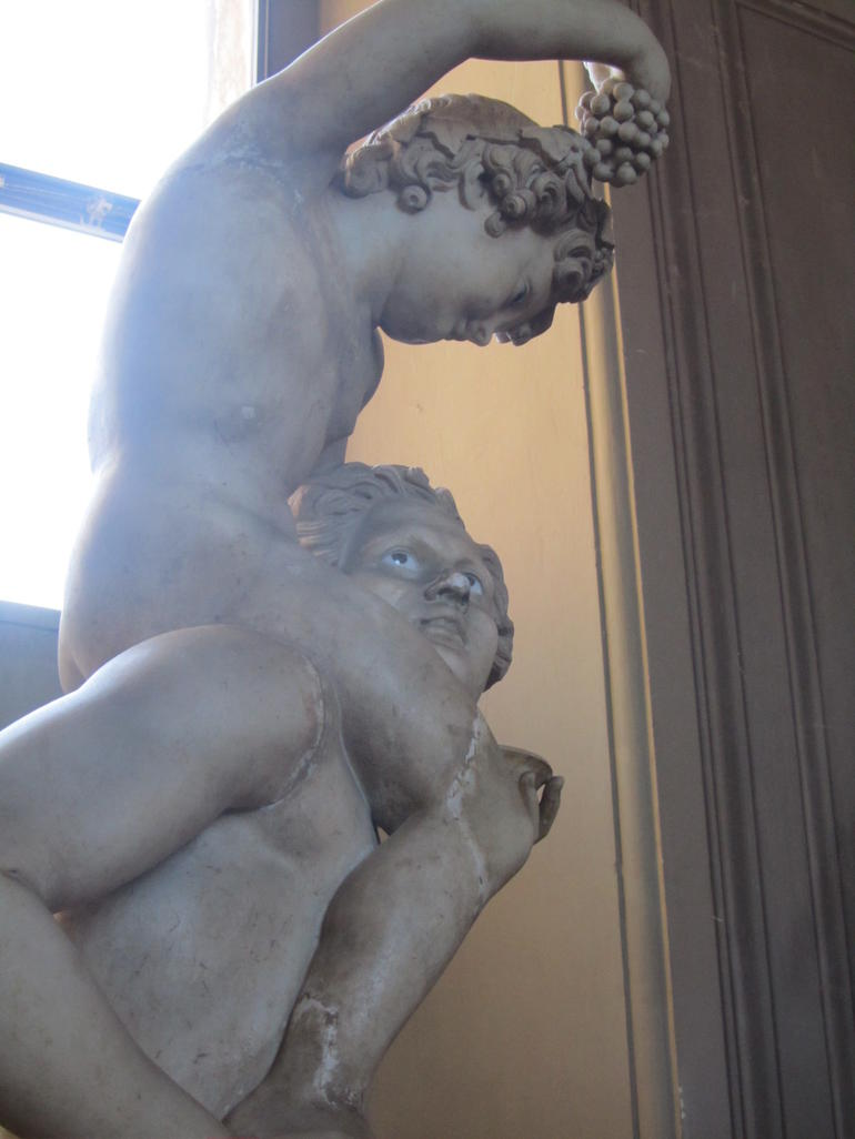 A marble statue - Rome