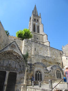 Photo of   Beautful day in St. Emilion