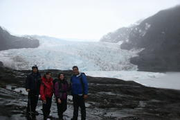 Photo of   before going to the glacier