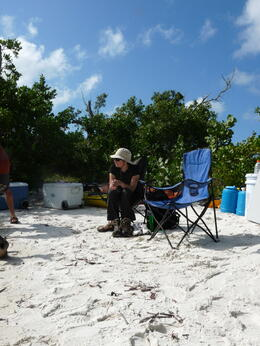 Part of our campsite in the Everglades, with lots of creature comforts., kellythepea - May 2014