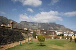 Photo of   Castle of Good Hope and Table Mountain