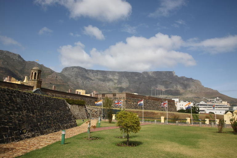 Castle of Good Hope and Table Mountain - Cape Town