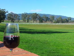 Enjoying lunch in the Yarra Valley. , BEVERLEY - August 2014