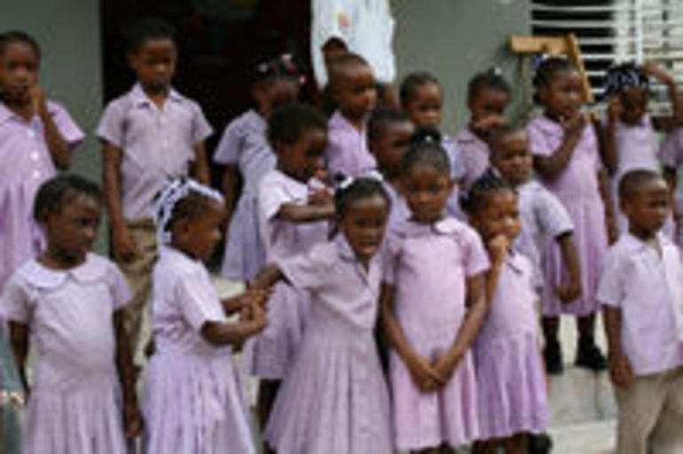 Children of the Local School - Montego Bay