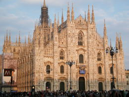 The sun sets on the magnificent Duomo...don't forget to climb to the roof! , Dale M - May 2011