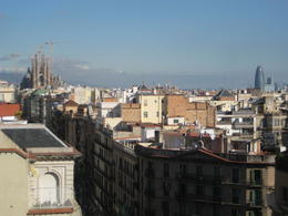 Photo of Barcelona Barcelona Hop-on Hop Off Tour: North to South Route From roof of La Pedrera