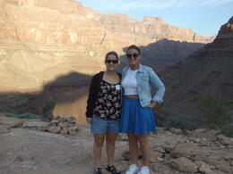 Emma and Hannah in the Grand Canyon , Julie F - November 2014