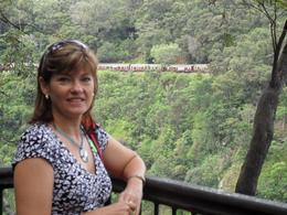 My wife at a lookout in Karunda, Brett C - March 2010