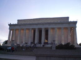 Photo of Washington DC Washington DC Sites at Night Bike Tour Lincoln Monument Evening