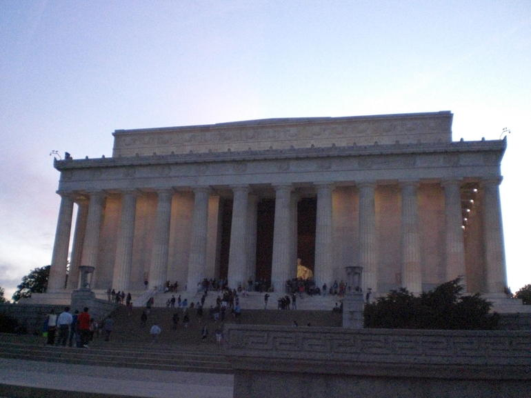 Lincoln Monument Evening - Washington DC