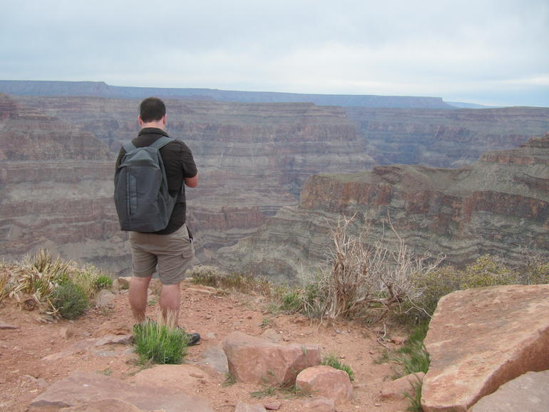 Looking Over the Grand Canyon - Las Vegas