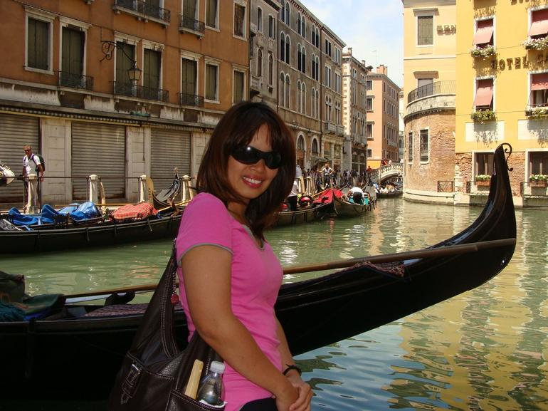 Lovin' the gondolas - Venice