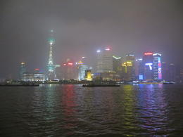 Don't miss the opportunity to see the Bund at night. , holiday fanatic - March 2014