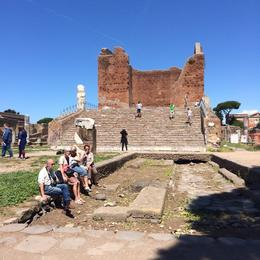 Photo of Rome Ancient Ostia Small Group Day Trip from Rome Ostia Antica forum