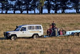 Photo of Melbourne Yarra Valley Balloon Flight at Sunrise Our Chase Vehicle Awaits