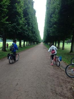 Just starting tour into Versailles. Some of our fellow biking tour companions. , Luis V - July 2014