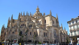 Segovia Cathedral , Leonard L - April 2016