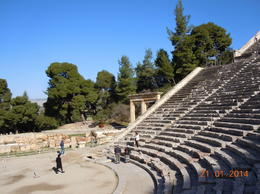 Photo of Athens Mycenae and Epidaurus Day Trip from Athens The amphitheatre at Epidaurus